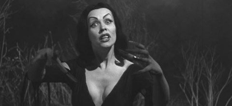 Vampira i PLan 9 From Outer Space.