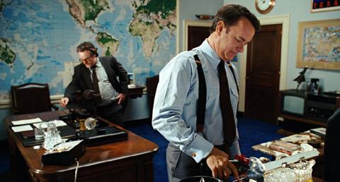 Philip Seymour Hoffman och Tom Hanks.